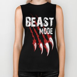 Beast Mode Biker Tank