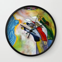 New York, the same dream a million times dreamt before me. (My dreams of America part1) Wall Clock