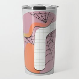 Spooky Doodling Pattern 011 Travel Mug
