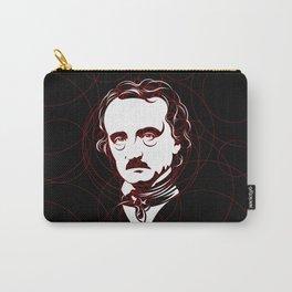 Edgar Allan Poe Circles Portrait Carry-All Pouch