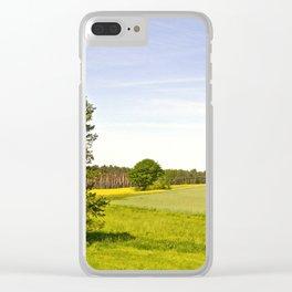 cultural landscape Clear iPhone Case