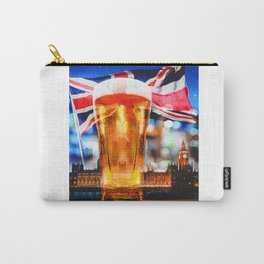 English Beer In A London Pub Carry-All Pouch