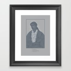Weariness Framed Art Print