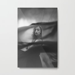 Black veil Metal Print