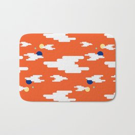 Up Up In A Space Bath Mat