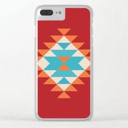 Tribal Love Clear iPhone Case