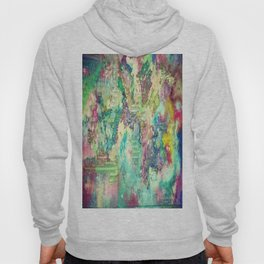 Watercolor Explosion Painting Hoody