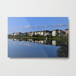 Reflections (1) Metal Print