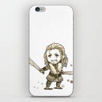 fili iPhone & iPod Skins featuring Fili Chibi by KuroCyou