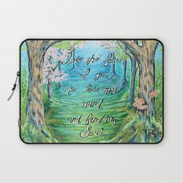 Into the Forest I go Laptop Sleeve