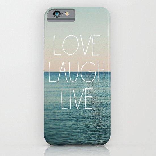 Love Laugh Live #2 iPhone & iPod Case