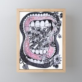 Taste of Freedom Framed Mini Art Print