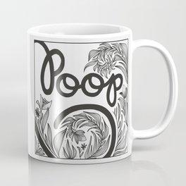 Straightforward Bathroom Decor Coffee Mug