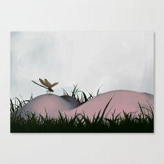 Between Rivers, Rilken No.1 Canvas Print
