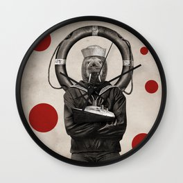 Anthropomorphic N°16 Wall Clock