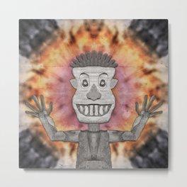 Caveman of Good Cheer Metal Print