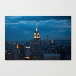 The night and the city Canvas Print