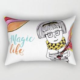 Magic Life Rectangular Pillow