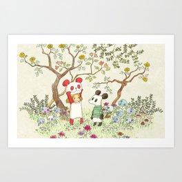 The Enchanted Garden Art Print