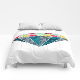 Diamond Geometric Comforters