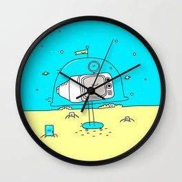 HD Not Quite Ready Wall Clock