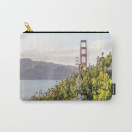 The Golden Gate Bridge in Spring Carry-All Pouch