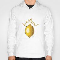 lemon Hoodies featuring Lemon by Bith-o