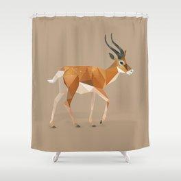 Gazelle. Shower Curtain