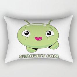 Chookity pok! Rectangular Pillow