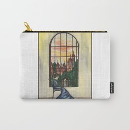 Woman and window Carry-All Pouch