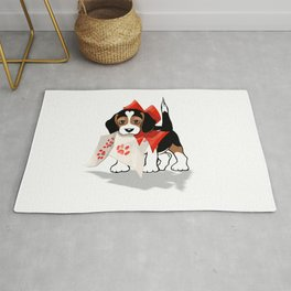 The Love Puppy—Love Letter Rug
