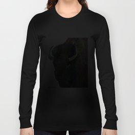 """American Bison"" Long Sleeve T-shirt"