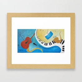 Created to Worship Framed Art Print