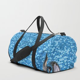 Summer Swimming Pool Duffle Bag