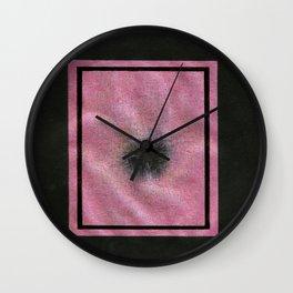 Is the Silk Damaged Beyond Salvation? Wall Clock