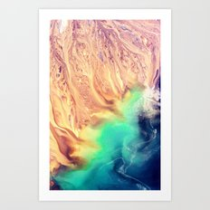 Life on Earth - for iphone Art Print