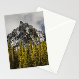 Call of the Wild, Peak in the Forest Stationery Cards