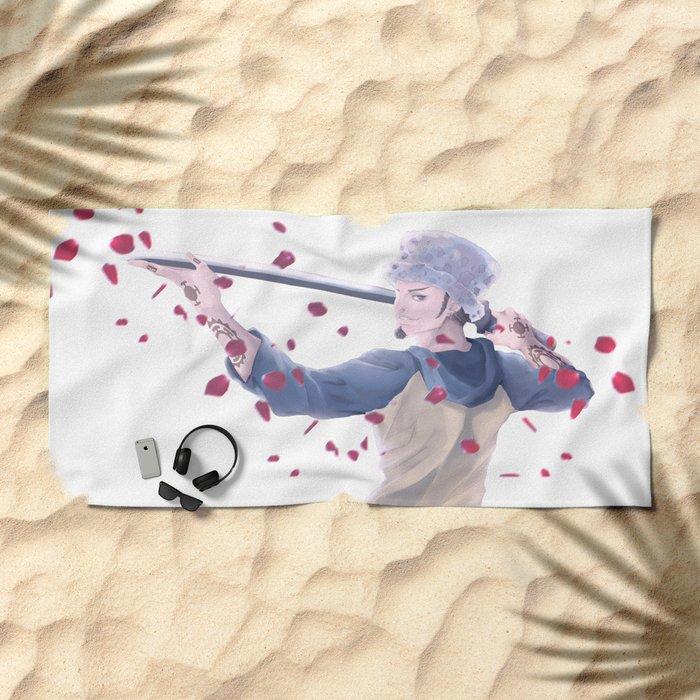 fan art  Beach Towel