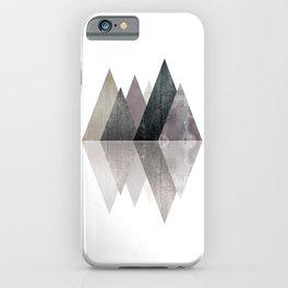 Modern Scandinavian Mountain iPhone Case