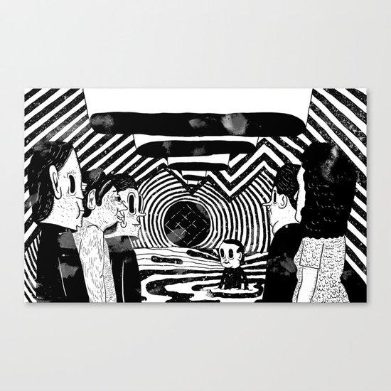"""Reflektor"" by Steven Fiche Canvas Print"