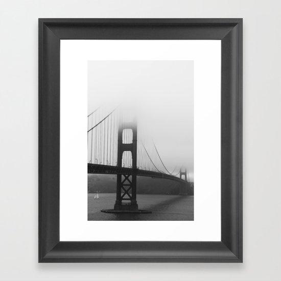 SF Golden Gate Framed Art Print