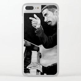 "Jimmy Smith ""hammond organ"" Clear iPhone Case"