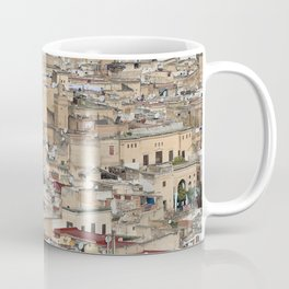 Skyline Roofs of Fes Marocco Coffee Mug