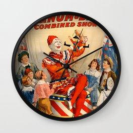 Ringling Circus Wall Clock