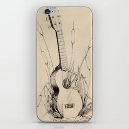 Ukulele iPhone Skin