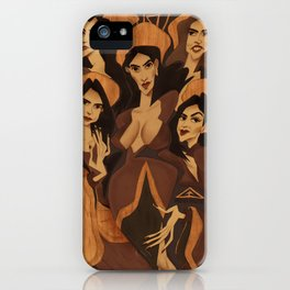 19 4 iPhone Case
