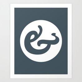 Ampersand Series - #1 Art Print