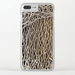 prickly on the outside - squishy on the inside Clear iPhone Case