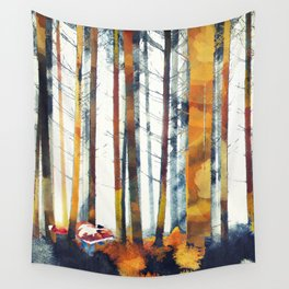 Autumn Hunt Wall Tapestry