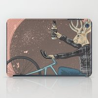 jackalope iPad Cases featuring Jackalope by Kelli Shaver